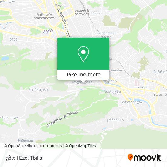 ეზო   Ezo map