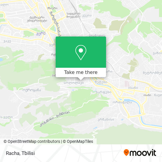 Racha map