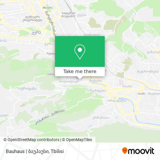 Bauhaus | ბაუჰაუსი map