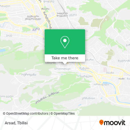 Arsad map