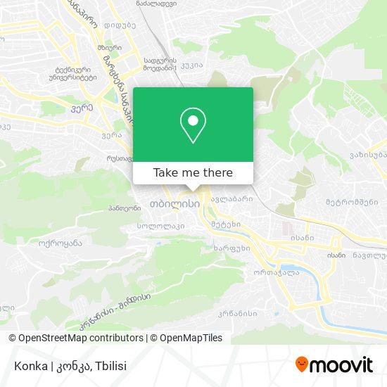 Konka   კონკა map