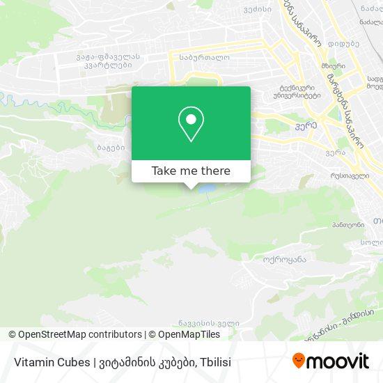Vitamin Cubes | ვიტამინის კუბები map