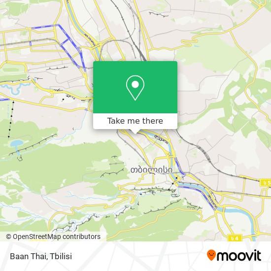 Baan Thai map
