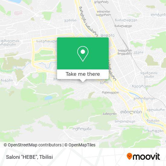 "Saloni ""HEBE"" map"