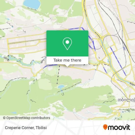 Creperie Corner map