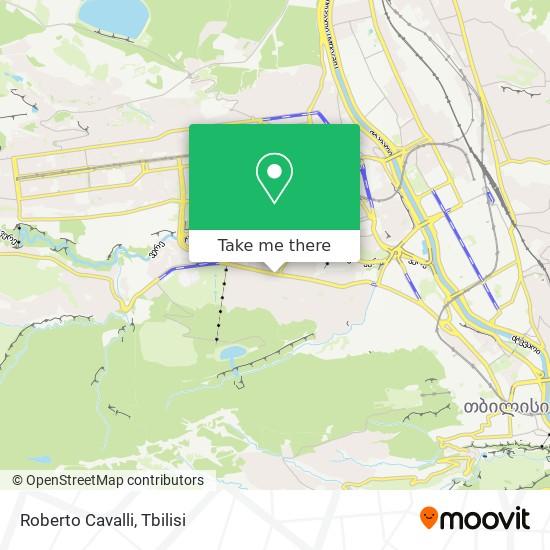 Roberto Cavalli map