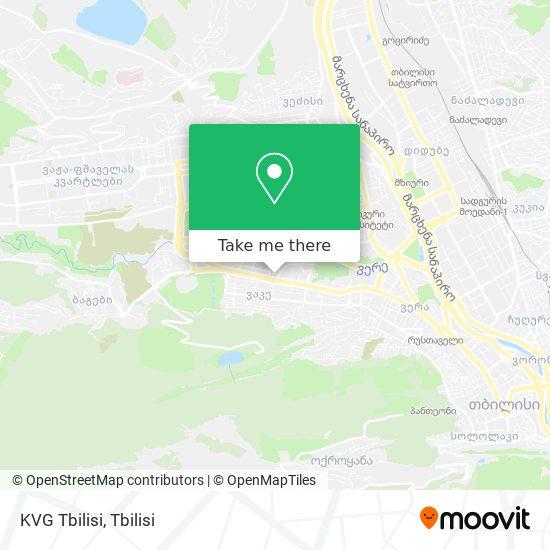 KVG Tbilisi map