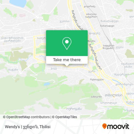 Wendy's | ვენდი'ს map