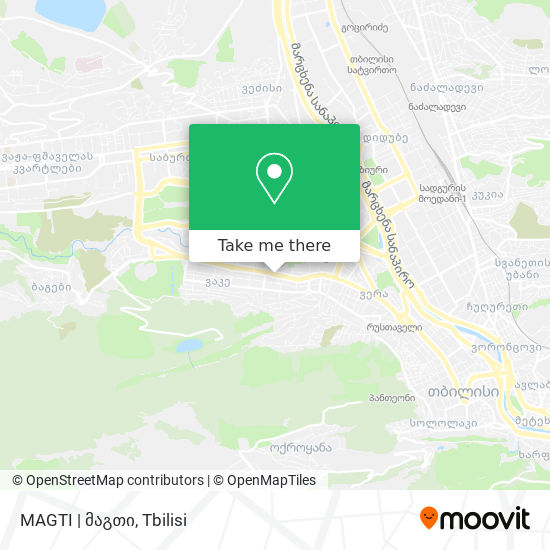MAGTI | მაგთი map