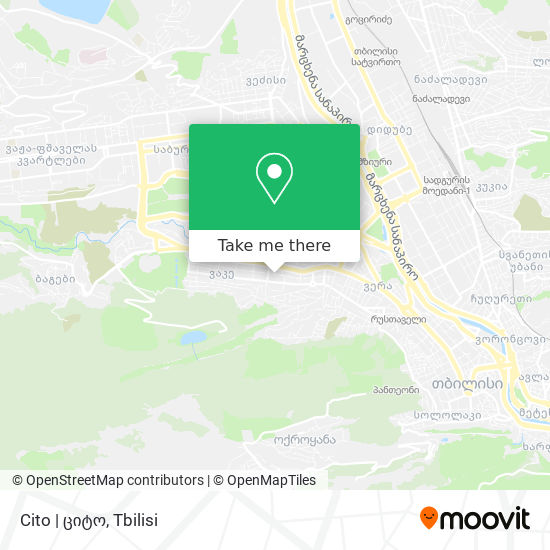 Cito | ციტო map
