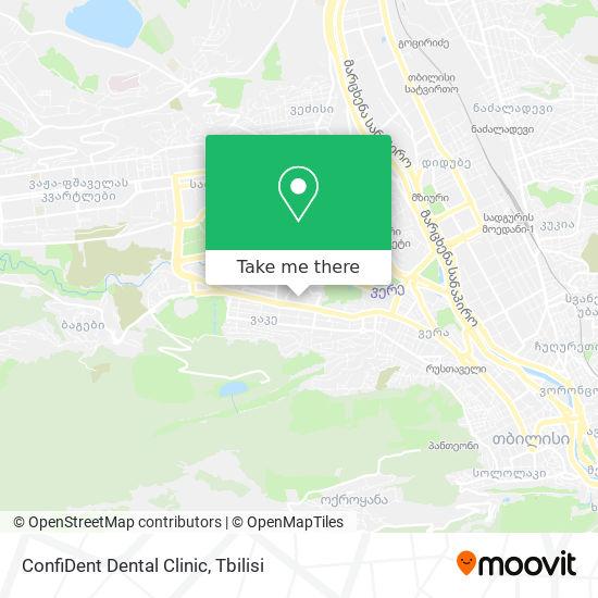 ConfiDent Dental Clinic map