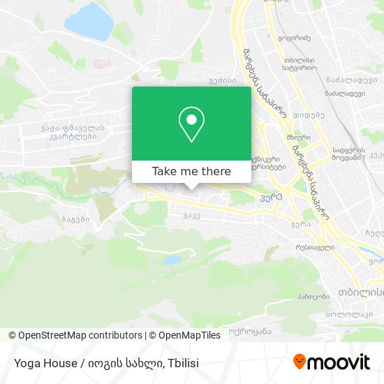 Yoga House / იოგის სახლი map