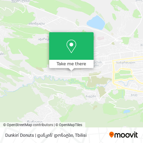 Dunkin' Donuts | დანკინ' დონატსი map