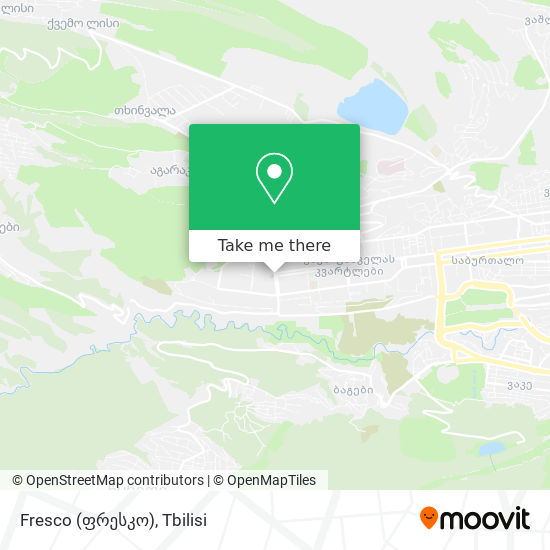 Fresco (ფრესკო) map
