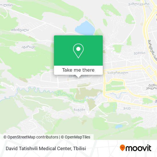 David Tatishvili Medical Center map