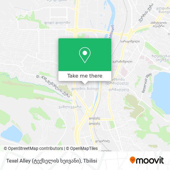 Texel Alley (ტექსელის ხეივანი) map