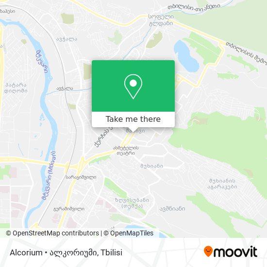Alcorium • ალკორიუმი map