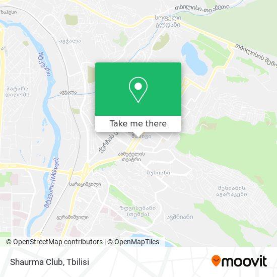 Shaurma Club map