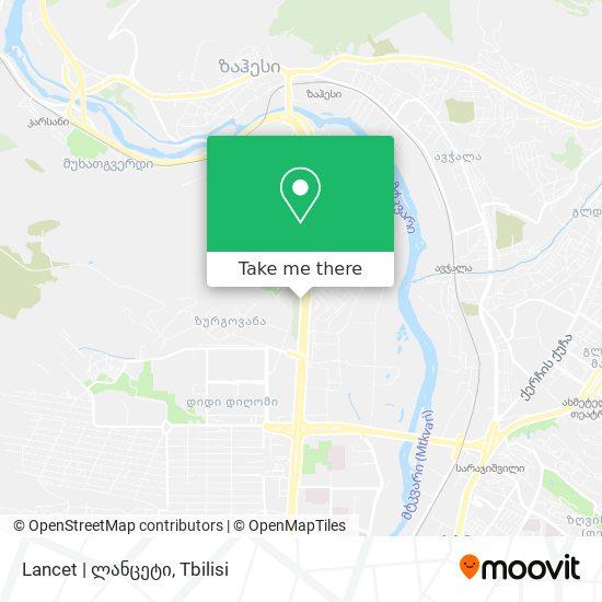 Lancet   ლანცეტი map