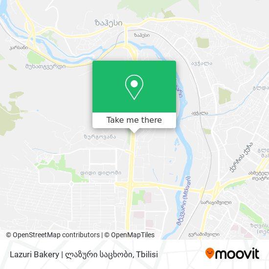 Lazuri Bakery   ლაზური საცხობი map