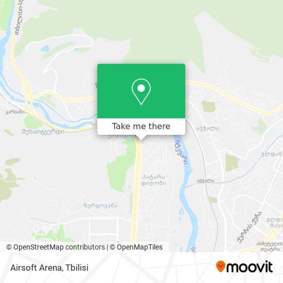 Airsoft Arena map