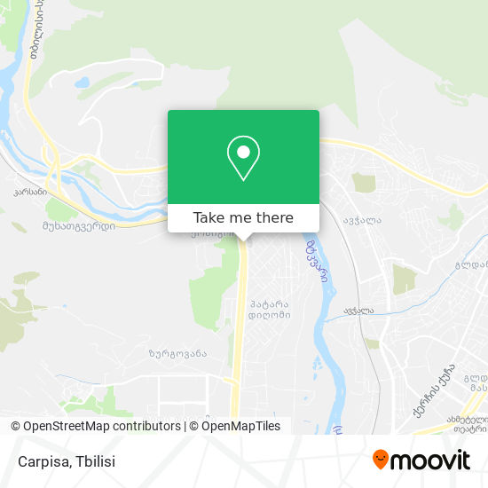 Carpisa map