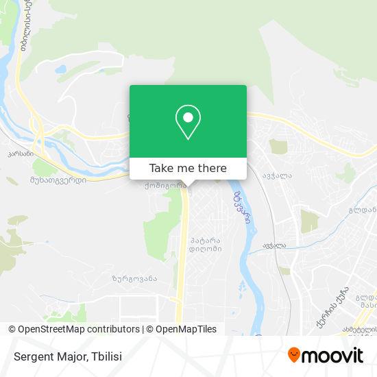 Sergent Major map