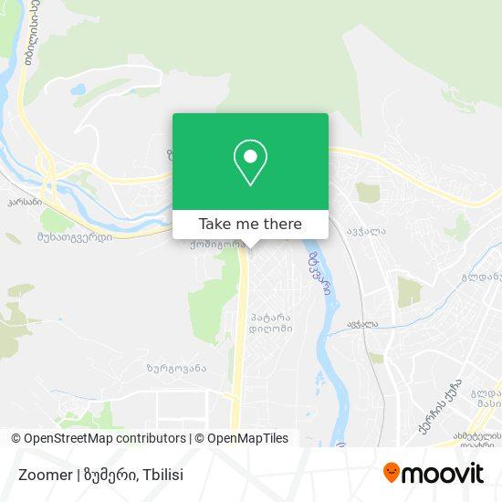 Zoomer | ზუმერი map