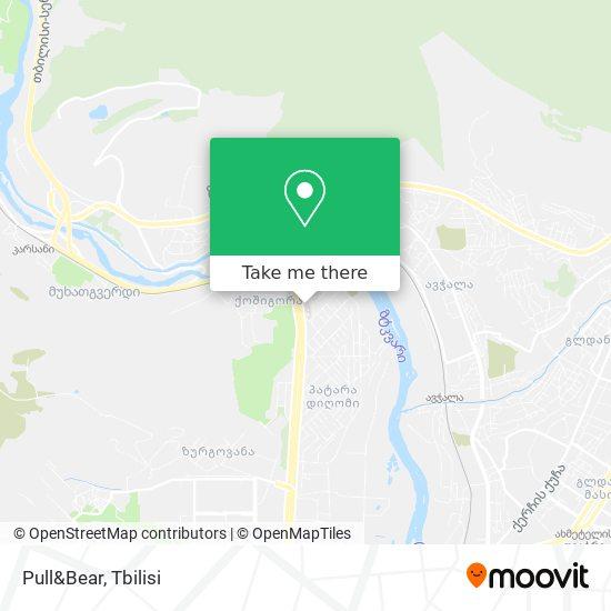 Pull&Bear map
