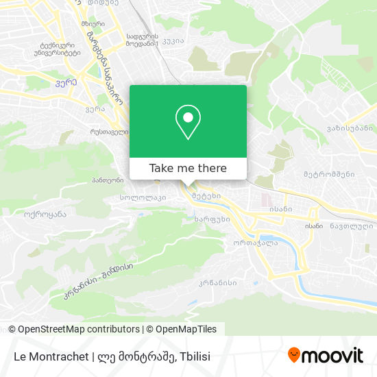 Le Montrachet   ლე მონტრაშე map