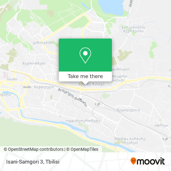 Isani-Samgori 3 map