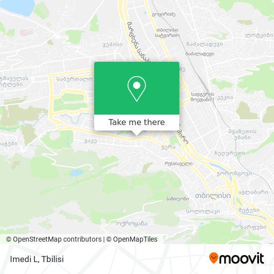 Imedi L map