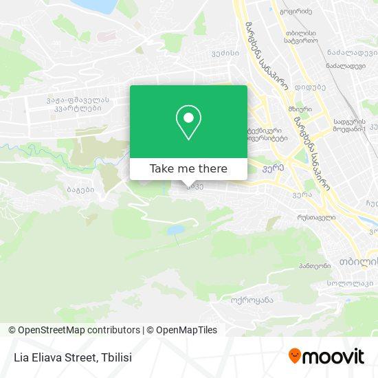 Lia Eliava Street map