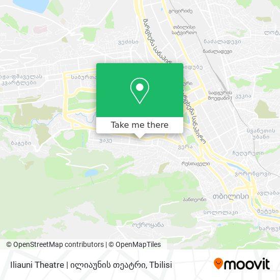 Iliauni Theatre   ილიაუნის თეატრი map