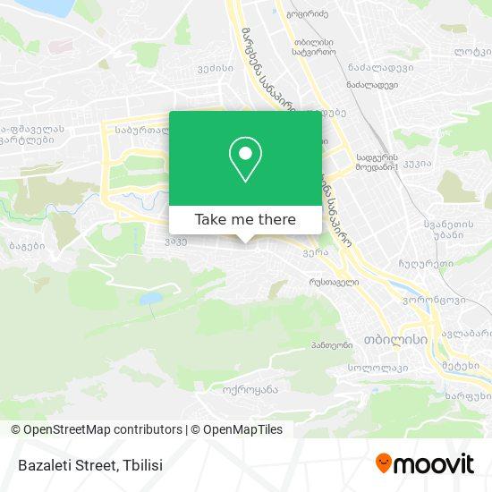 Bazaleti Street map