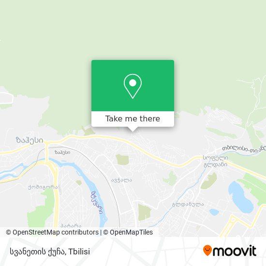 სვანეთის ქუჩა map