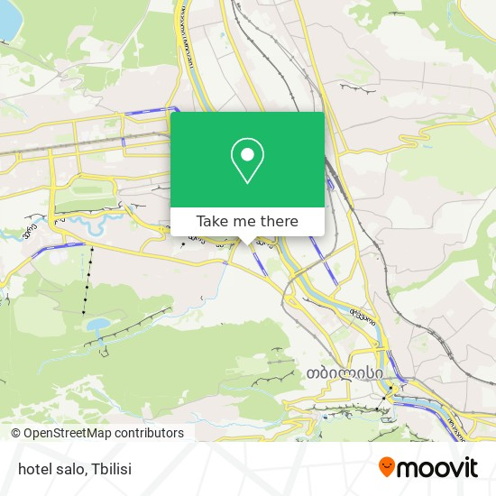 hotel salo map