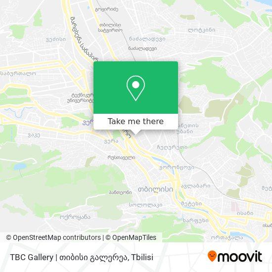 TBC Gallery | თიბისი გალერეა map