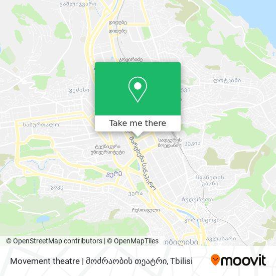 Movement theatre | მოძრაობის თეატრი map
