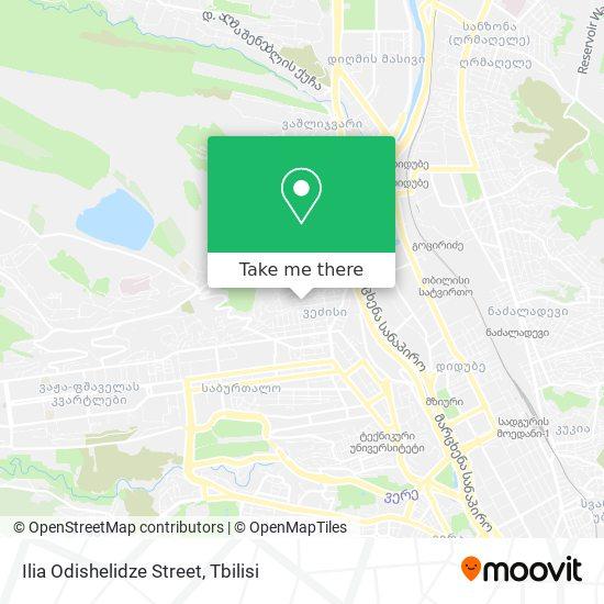 Ilia Odishelidze Street map