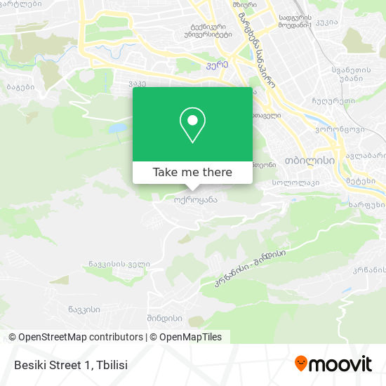 Besiki Street 1 map