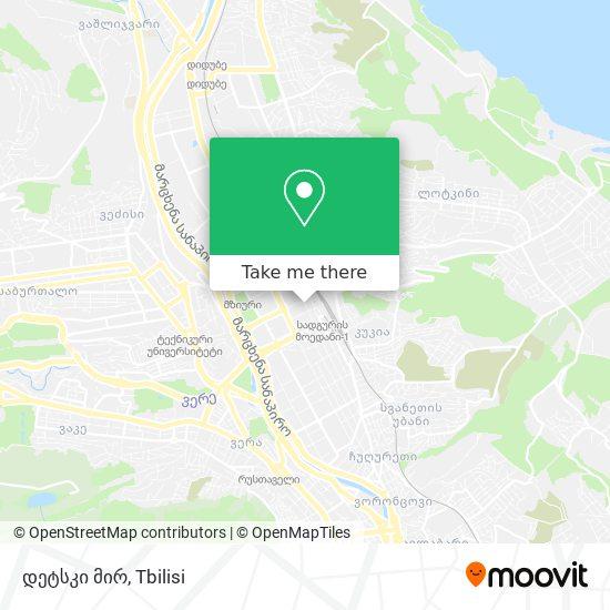 დეტსკი მირ map