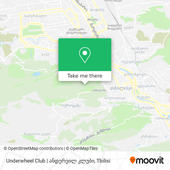 Underwheel Club   ანდერვილ კლუბი map