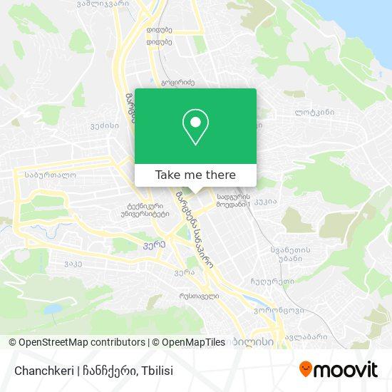 Chanchkeri   ჩანჩქერი map