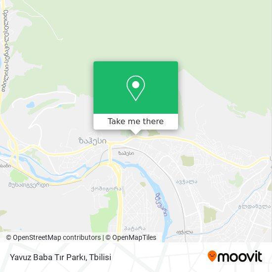 Yavuz Baba Tır Parkı map