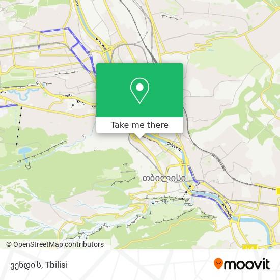 ვენდი'ს map