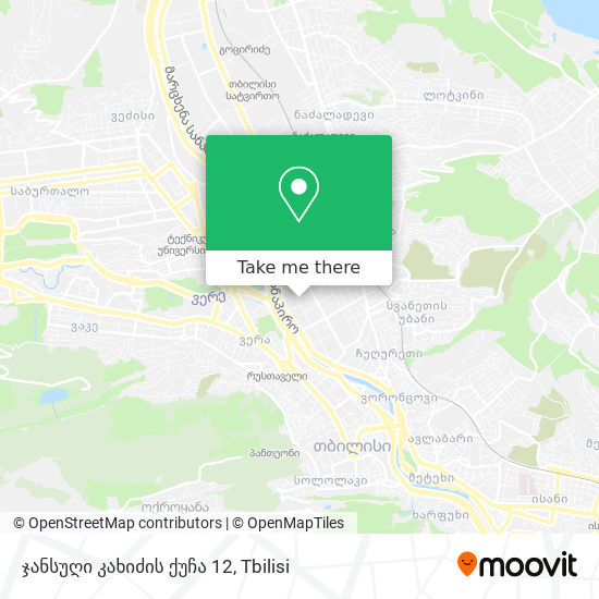 ჯანსუღი კახიძის ქუჩა 12 map