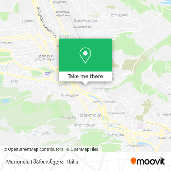 Marionela | მარიონელა map