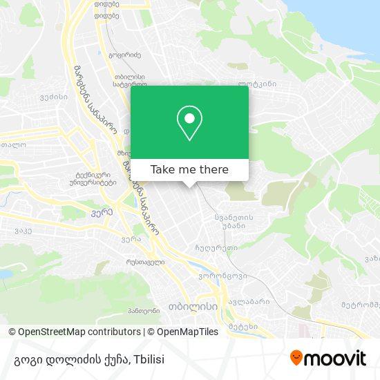 გოგი დოლიძის ქუჩა map