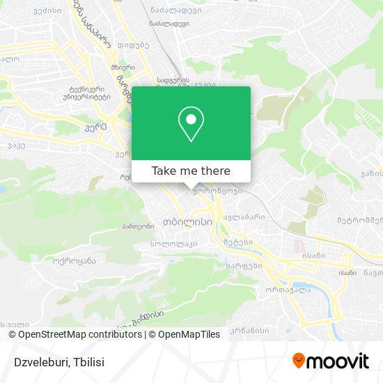 Dzveleburi map